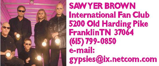 Sawyer Brown International Fan Club